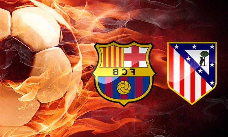 التعادل السلبي يخيم على مباراة برشلونة وأتلتيكو مدريد في الدوري الأسباني يلا شوت