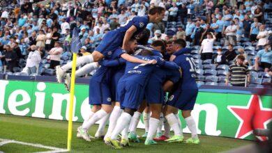 تشيلسي يحرز لقب دوري أبطال أوروبا بعد فوزه على مانشستر سيتي