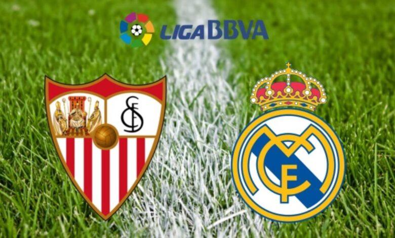 يلا شوت حصري مشاهدة مباراة ريال مدريد وإشبيلية بث مباشر اليوم في الدوري الأسباني كورة أونلاين