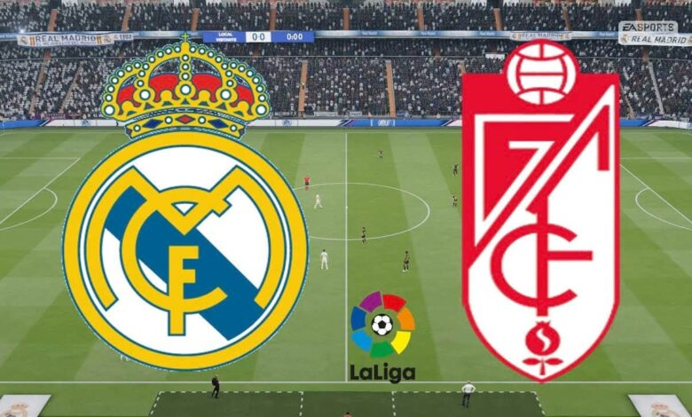 بث مباشر ريال مدريد وغرناطة يلا شوت مشاهدة مباراة ريال مدريد ضد غرناطة كورة اون لاين