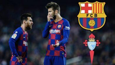 نتيجة مباراة برشلونة وسيلتا فيغو 2-1 ملخص أهداف الدوري الأسباني