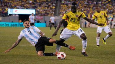 نتيجة | ملخص مباراة الارجنتين وكولومبيا 2-2 | كولومبيا يعادل الأرجنتين في الوقت القاتل