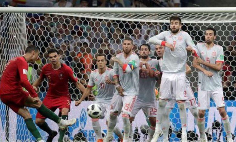 التعادل السلبي يتسيد مباراة إسبانيا والبرتغال الودية قبل يورو 20201