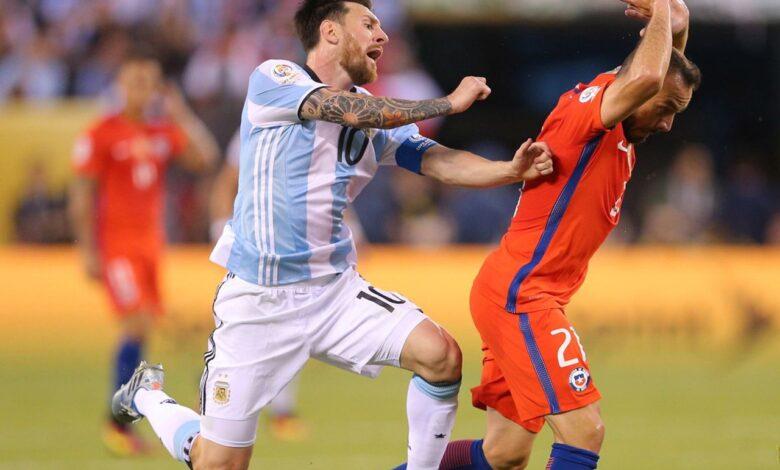 يلا شوت نتيجة مباراة الأرجنتين وتشيلي كورة لايف ملخص الارجنتين ضد تشيلي اليوم