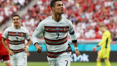 يلا شوت ملخص مباراة البرتغال والمجر 3-0 | ليلة رونالدو التاريخية في يورو 2020