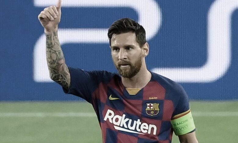 برشلونة يحصل على خدمات ميسي لخمس سنوات قادمة
